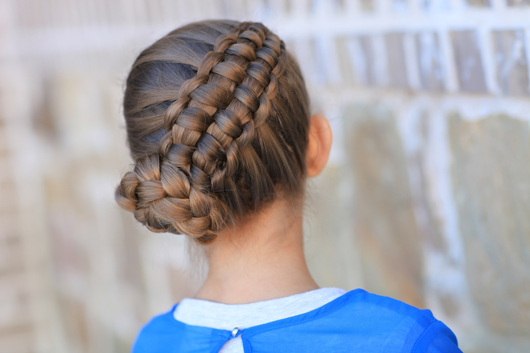 How To Create A Zipper Braid Updo Hairstyles Cute Girls Hairstyles