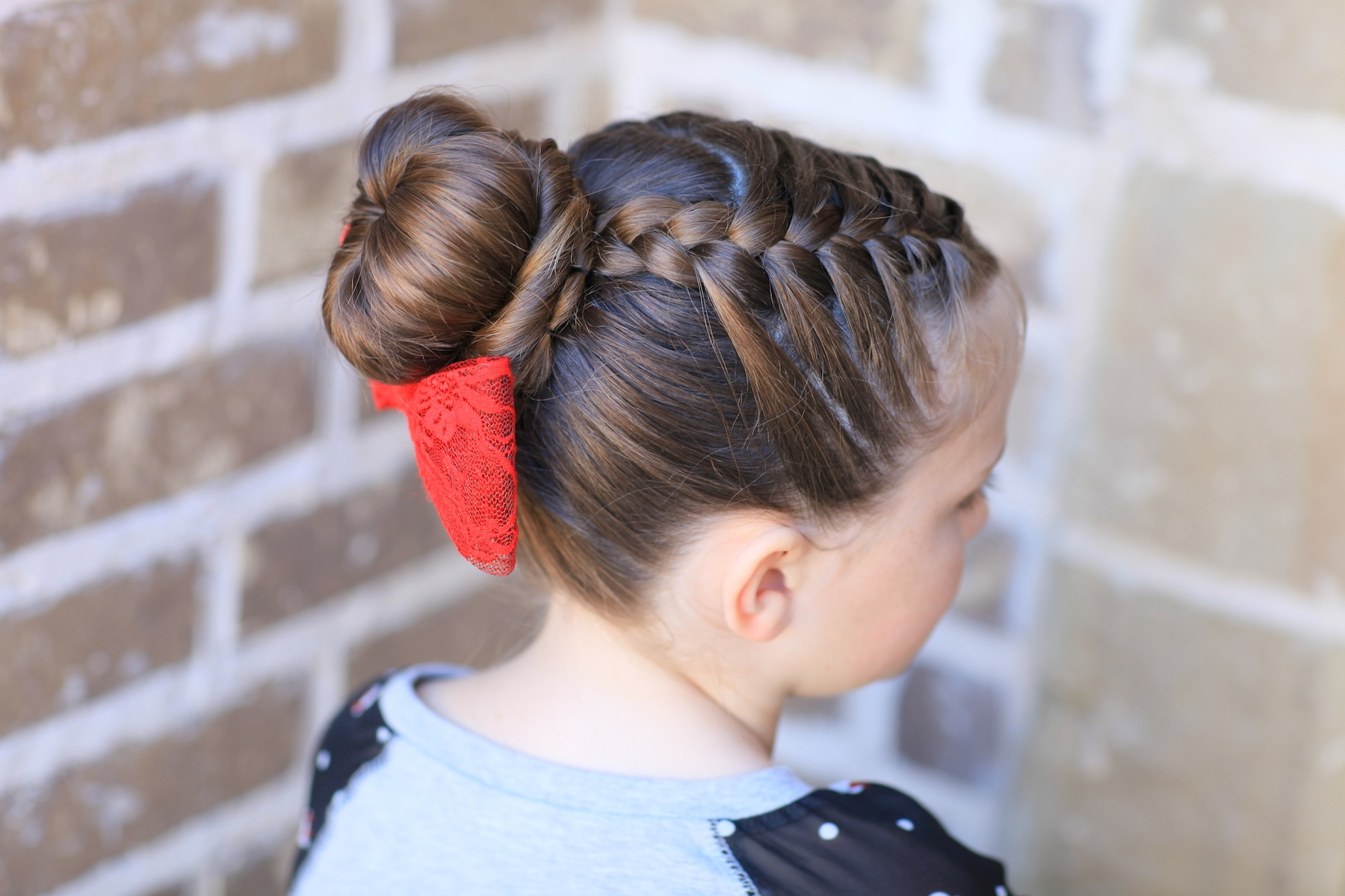How To Create A Love Bun Valentines Day Hairstyles Cute Girls