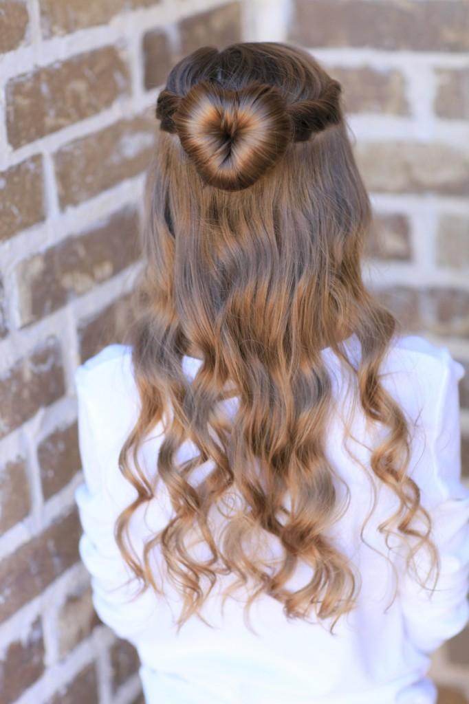 Love Bun | Valentine's Day Hairstyles