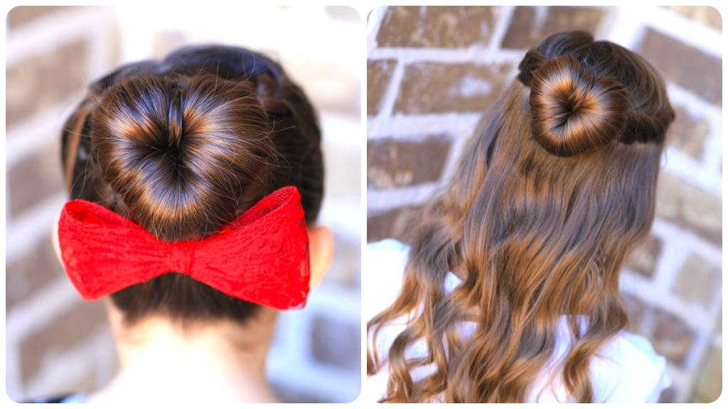 How to Create a Love Bun | Valentine's Day Hairstyles