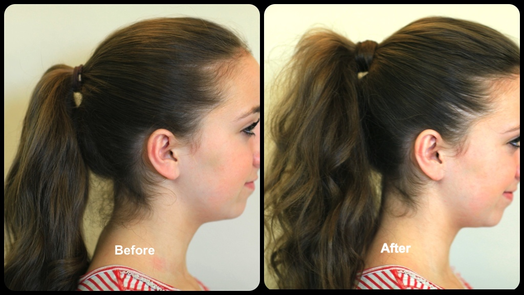 How to Get the Perfect Ponytail | Before & After