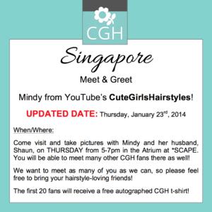 Singapore Meet & Greet