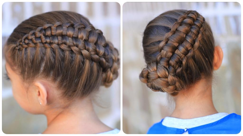 How To Create A Zipper Braid Updo Hairstyles Cute Girls