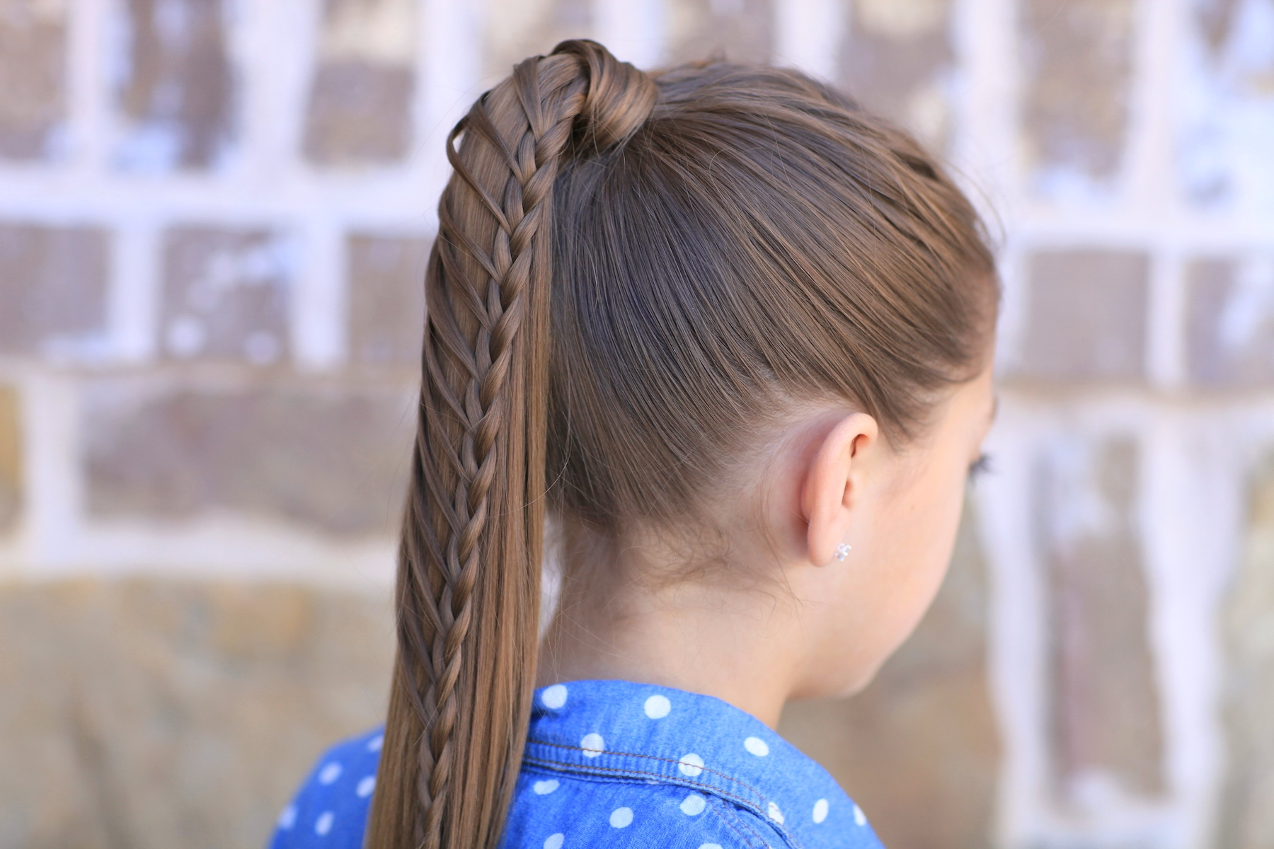 Lace Braided Ponytail And Updo Cute Hairstyles Cute Girls Hairstyles