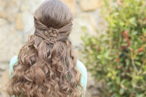Double Celtic Knot |St Patrick's Day Hairstyles