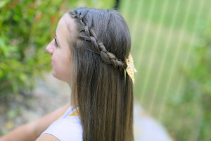 Knotted Braid Tieback