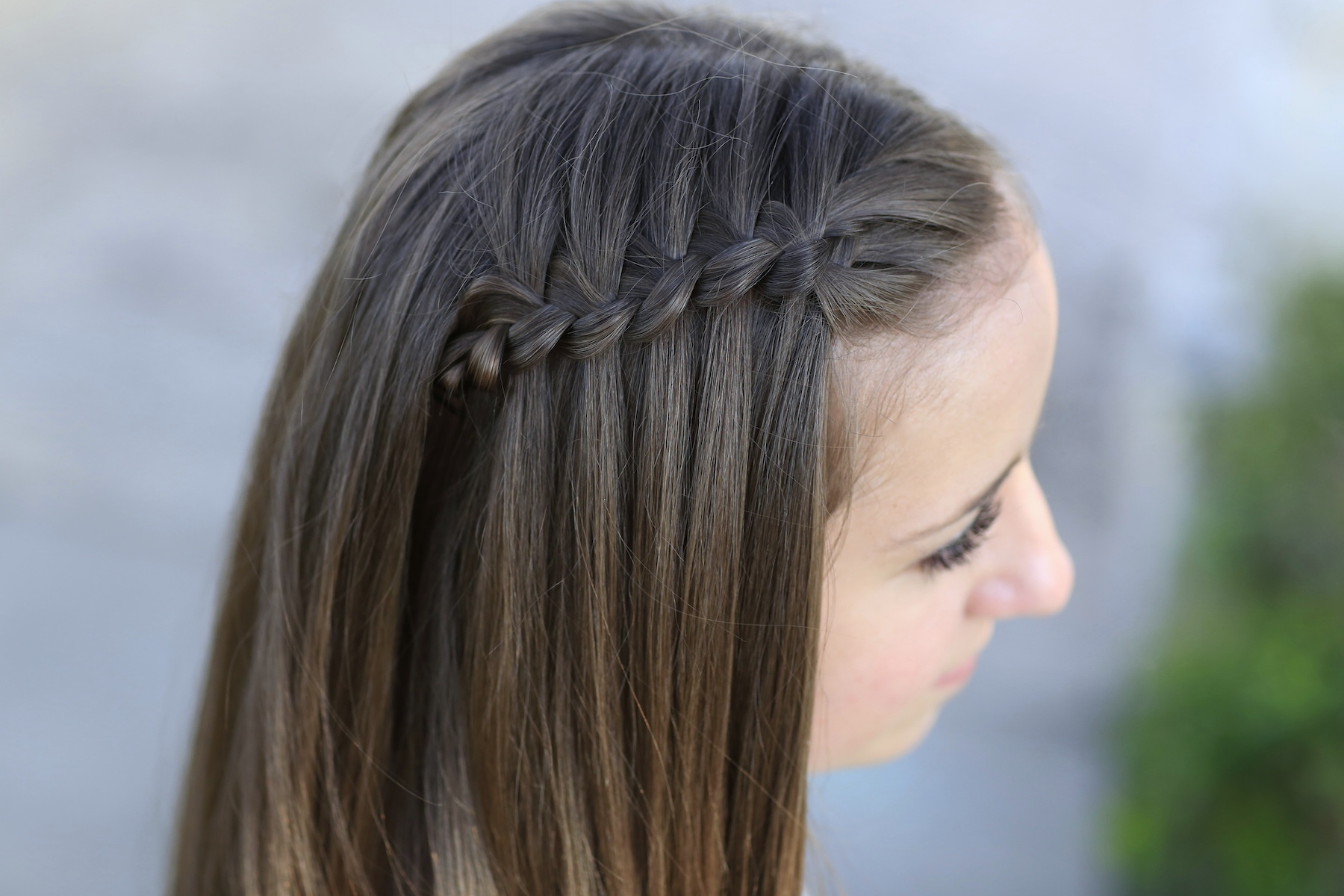 How to Create a 4-Strand Waterfall Braid
