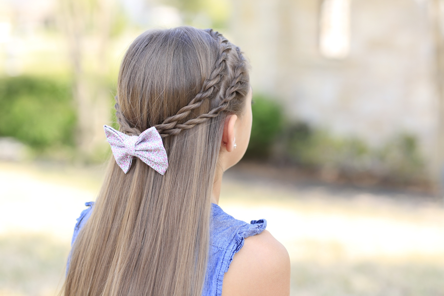 Zig Zag Twistbacks Rope Braid