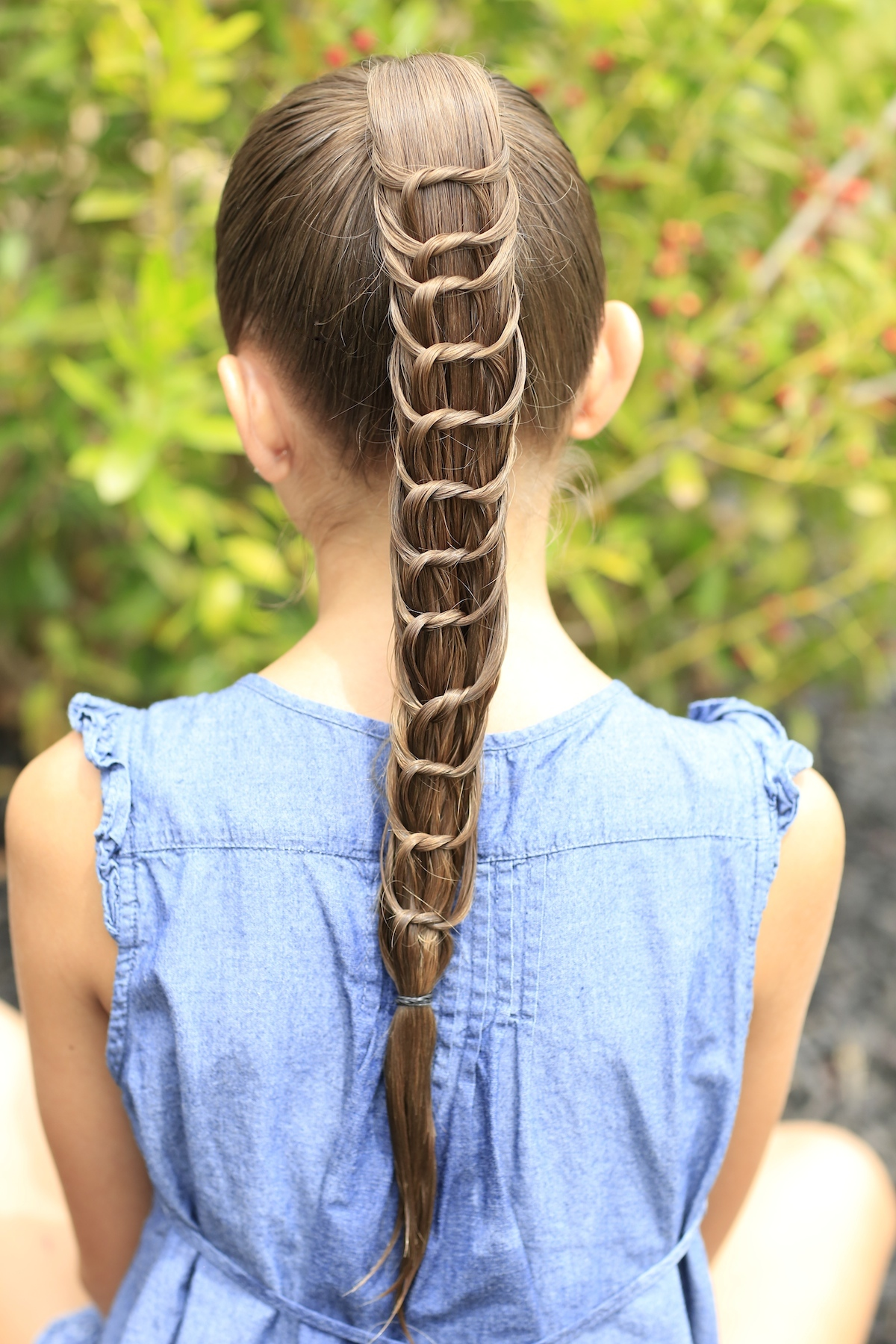 The Knotted Ponytail | Hairstyles for Girls | Cute Girls Hairstyles