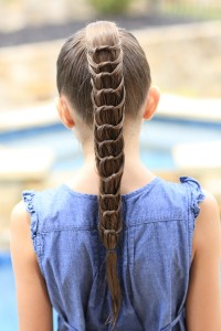 The Knotted Ponytail Hairstyle