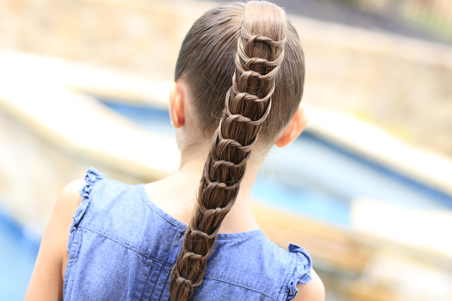 Enjoyable The Knotted Ponytail Hairstyles For Girls Cute Girls Hairstyles Natural Hairstyles Runnerswayorg