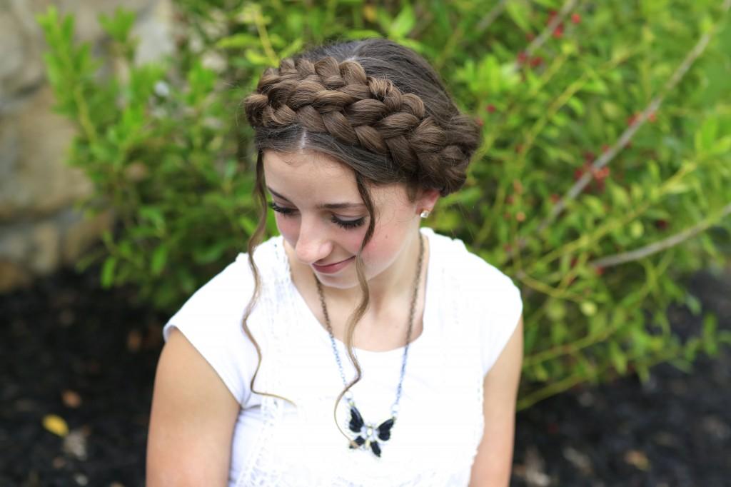 Milkmaid Braids | Summer Hairstyles
