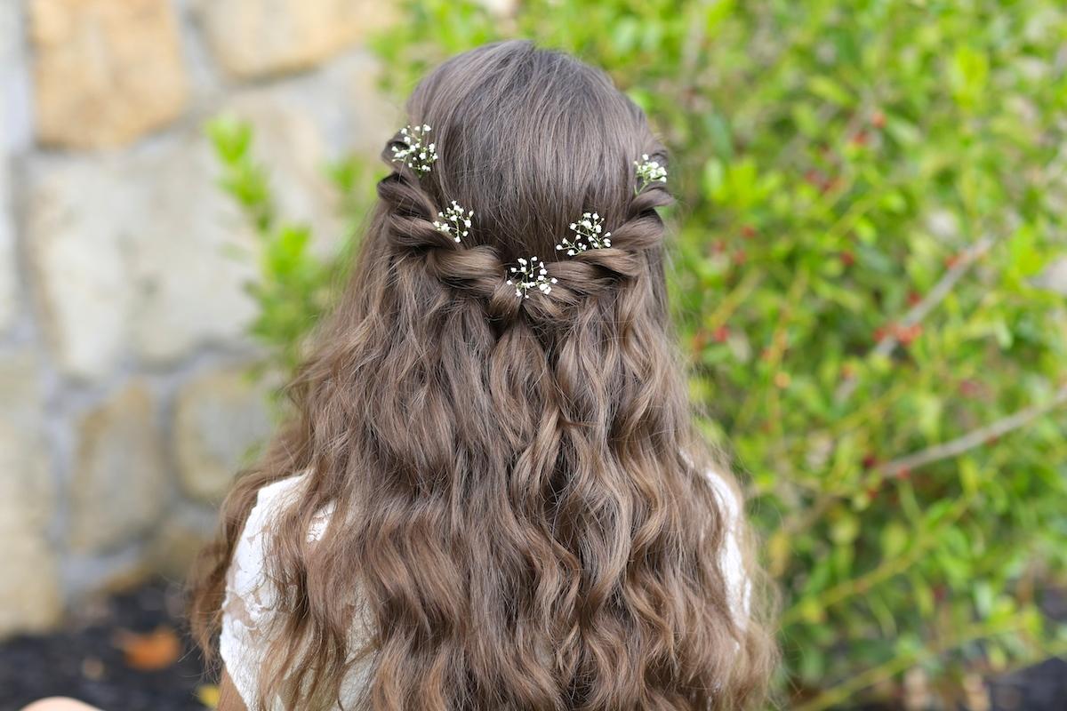 Princess Aurora Twistback Inspired By Disney S Maleficent Cute Girls Hairstyles