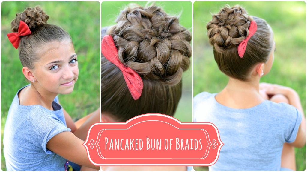 Pancaked Bun of Braids