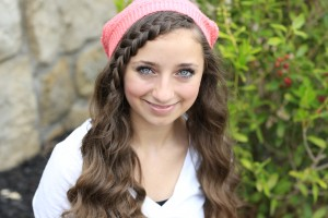 Lace Braid Bangs with Beanie