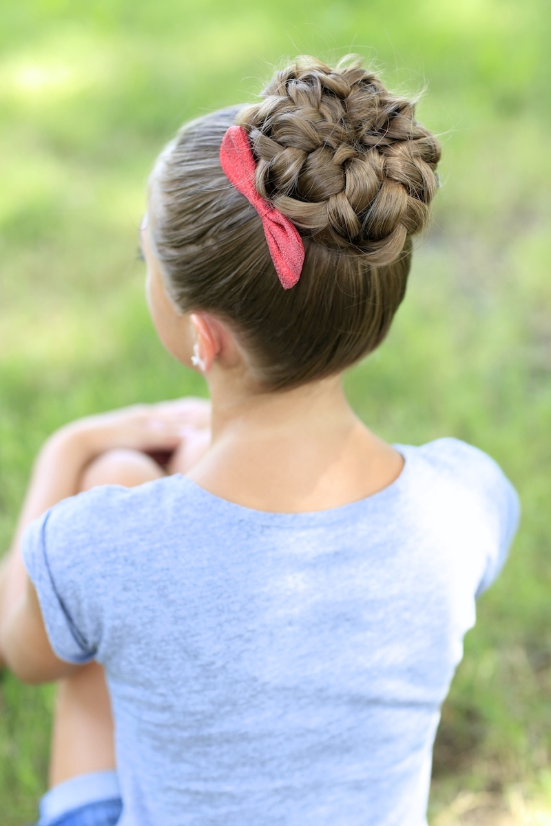 hairstyles cute buns bun peinados para hairstyle ninas sock hair pretty styles trenzas updo braided braids con fotos cutegirlshairstyles long