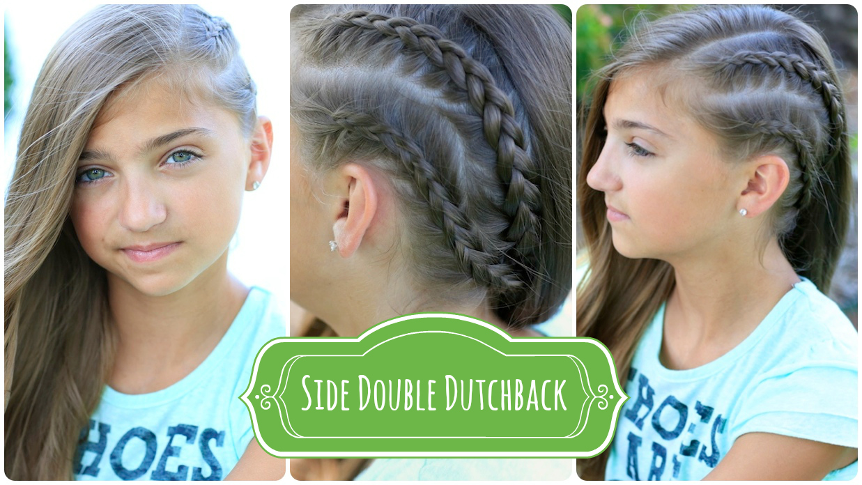 Double Dutchback   Heidi Klum Hairstyles   Cute Girls Hairstyles