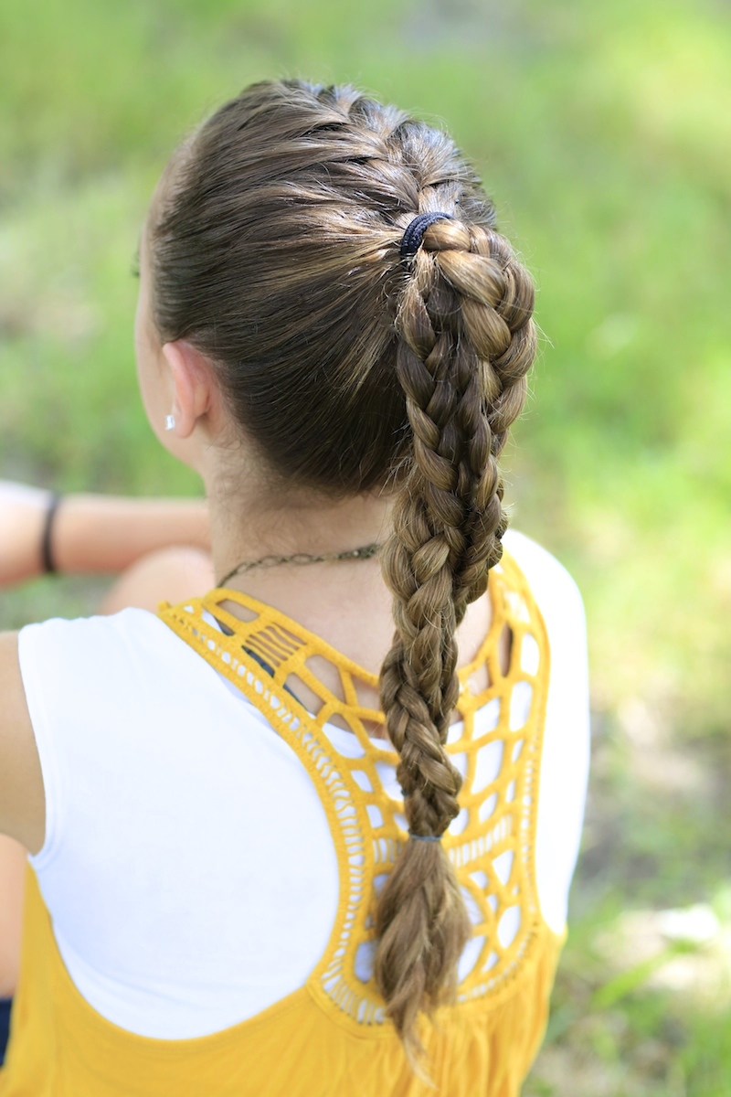 The Run Braid Combo Hairstyles For Sports Cute Girls Hairstyles
