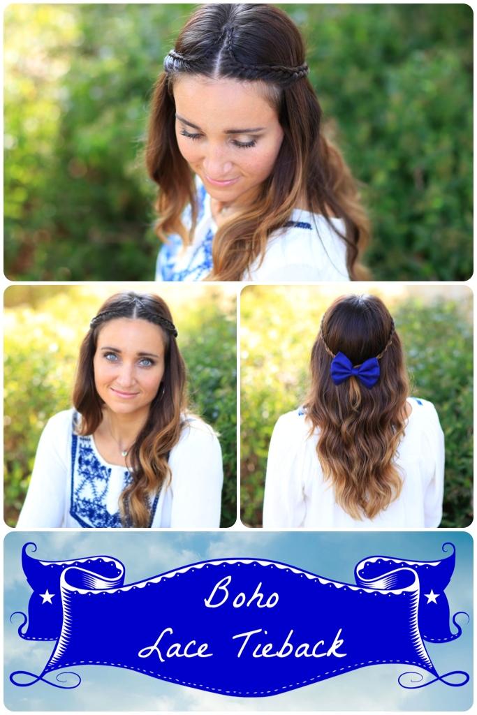 Boho Lace Braid | Cute Hairstyles