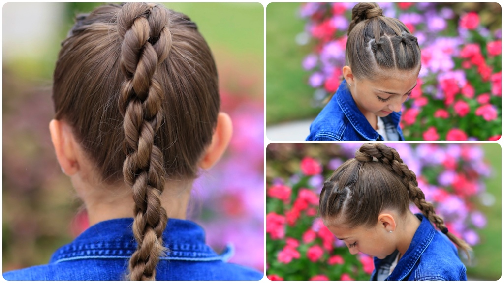 Chain Link Braid | Hairstyles for Sports
