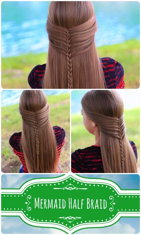 Mermaid Half Braid | Hairstyles for Long Hair
