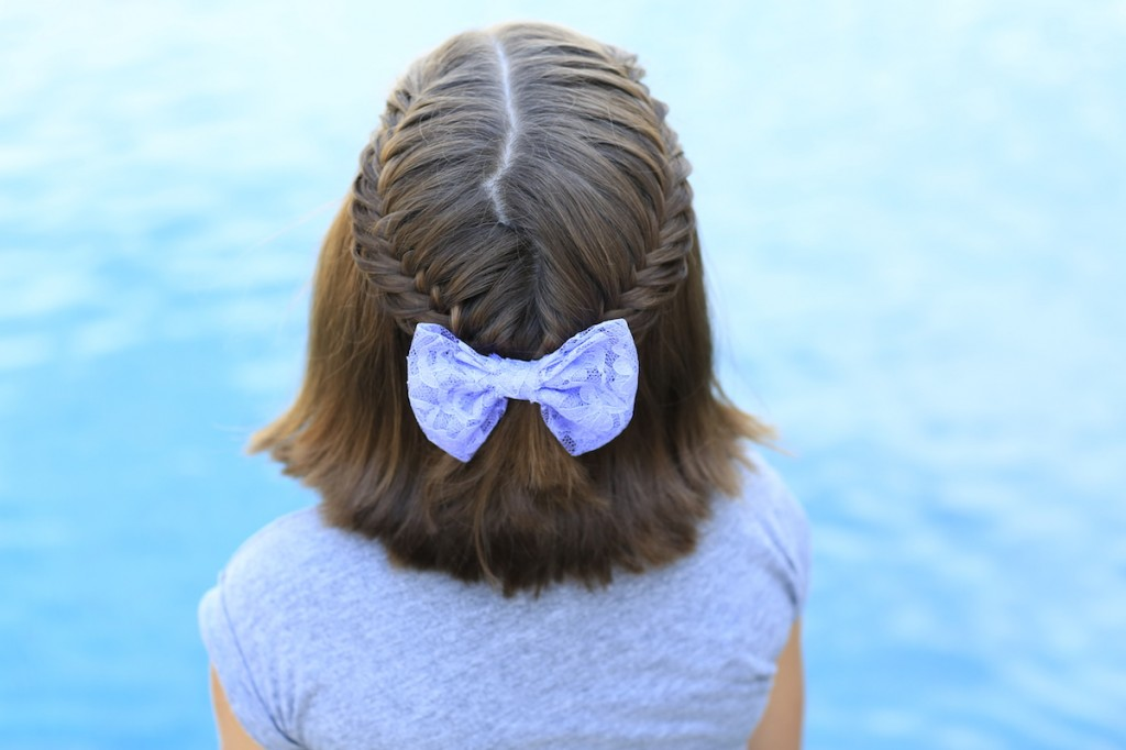 Laced Fishtail Tieback