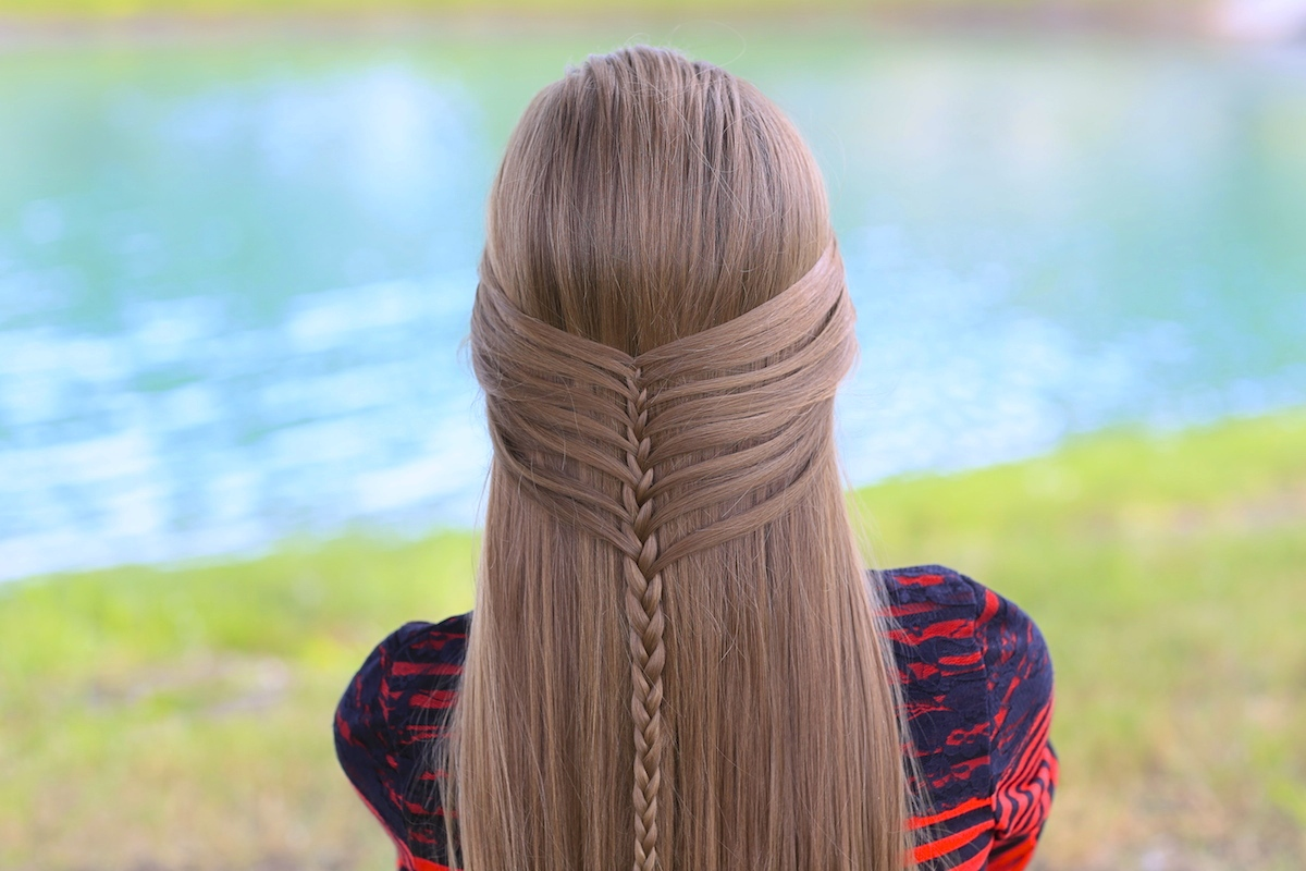 Mermaid Half Braid | Hairstyles for Long Hair | Cute Girls ...