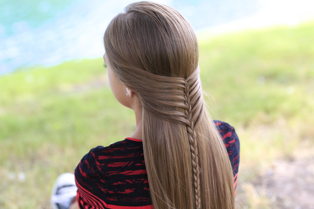 Mermaid Half Braid | Hairstyles for Long Hair - Cute Girls ...