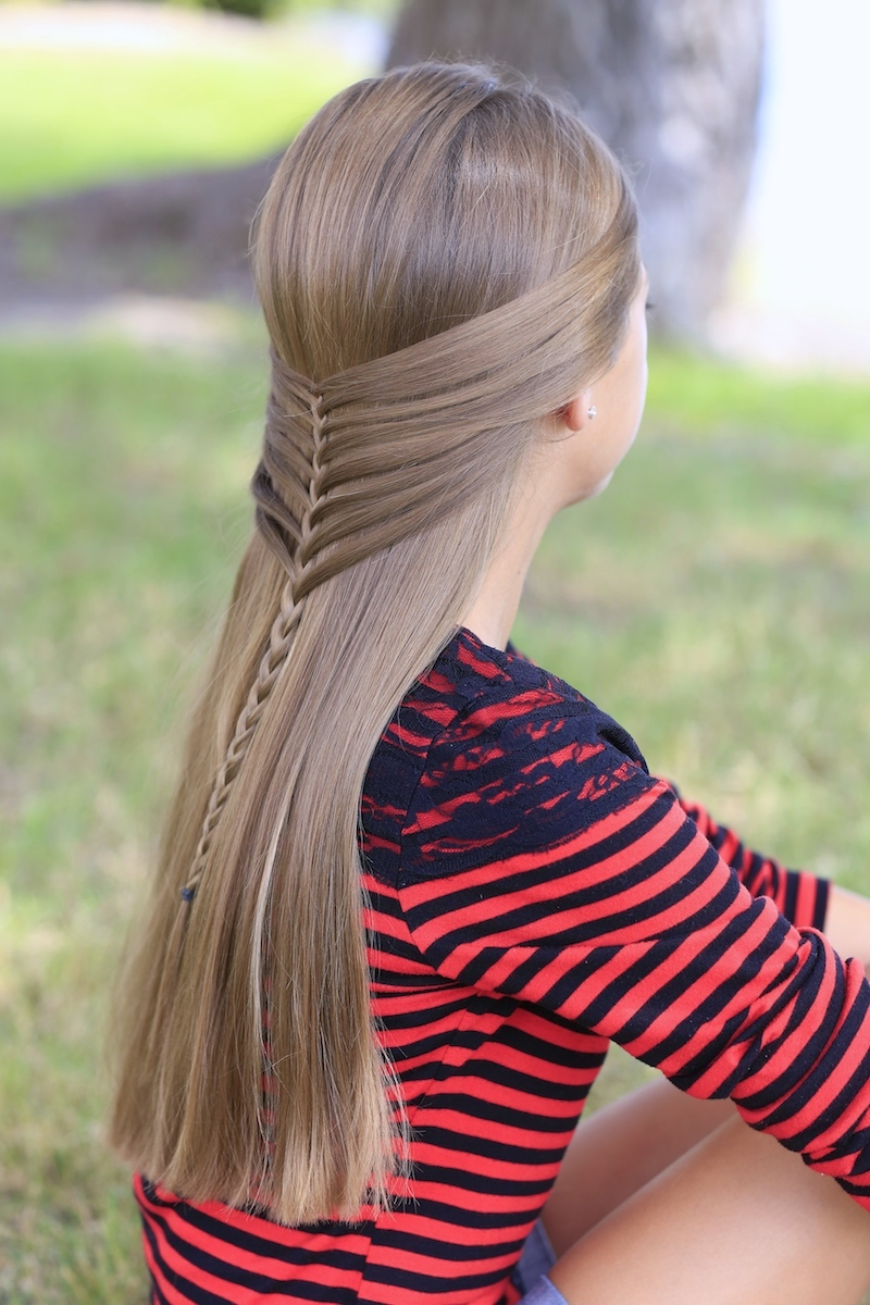 14 Lovely Braided Hairstyles for Kids - Pretty Designs |Pretty Braids For Girls