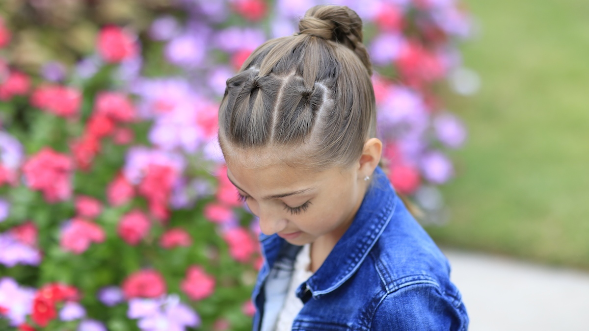 HD wallpapers easy gymnastics hairstyles for long hair