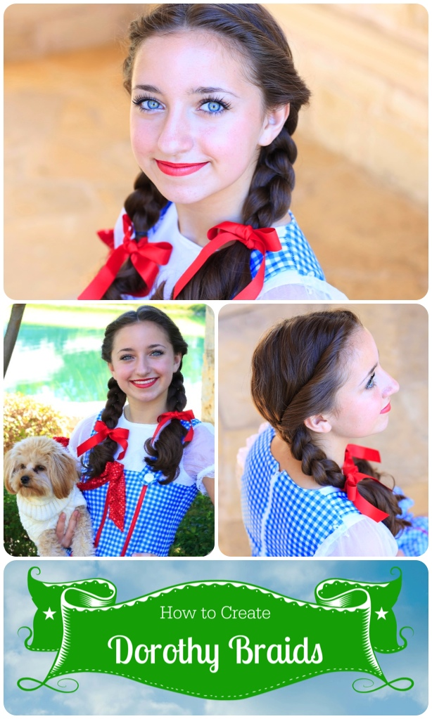 Bailey's Dorothy Braids | Halloween Hairstyles