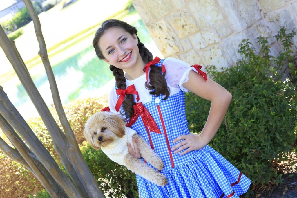 Young girl dressed up as Dorothy | The Wizard of Oz