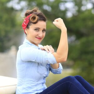 Rosie the Riveter | Hairstyle Tutorial