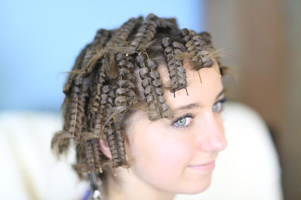 Hair Pin Curls | No-Heat Curls