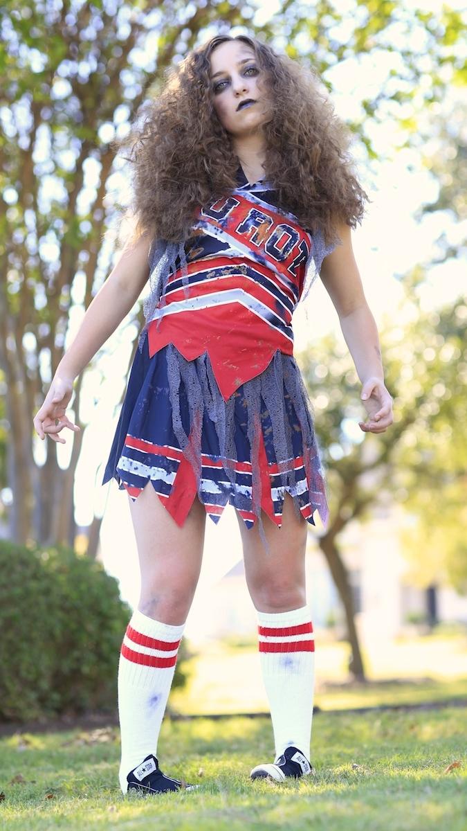 zombie cheerleader | hair pin curls | cute girls hairstyles