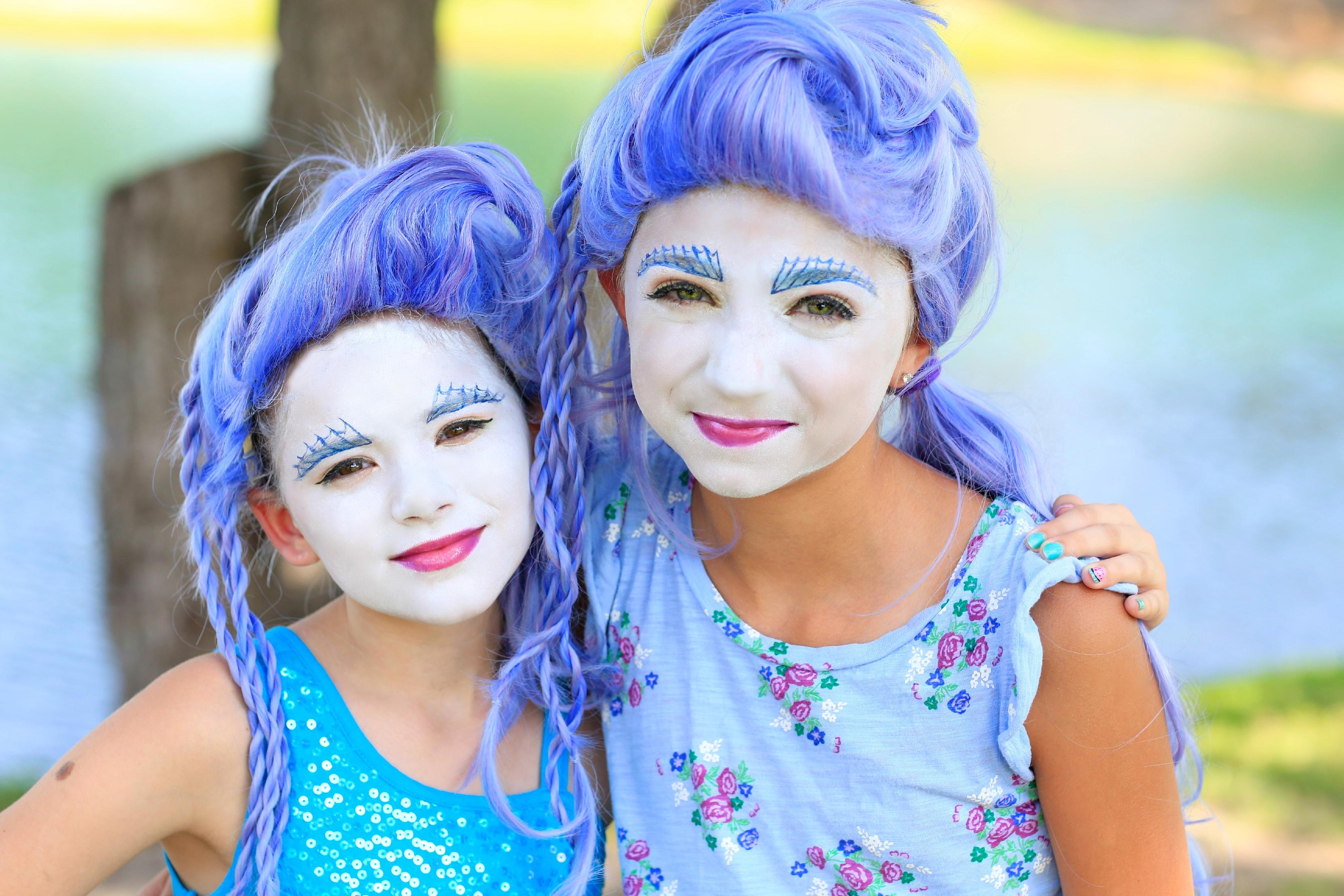 Monster High's Sirena Von Boo | Halloween Hairstyles