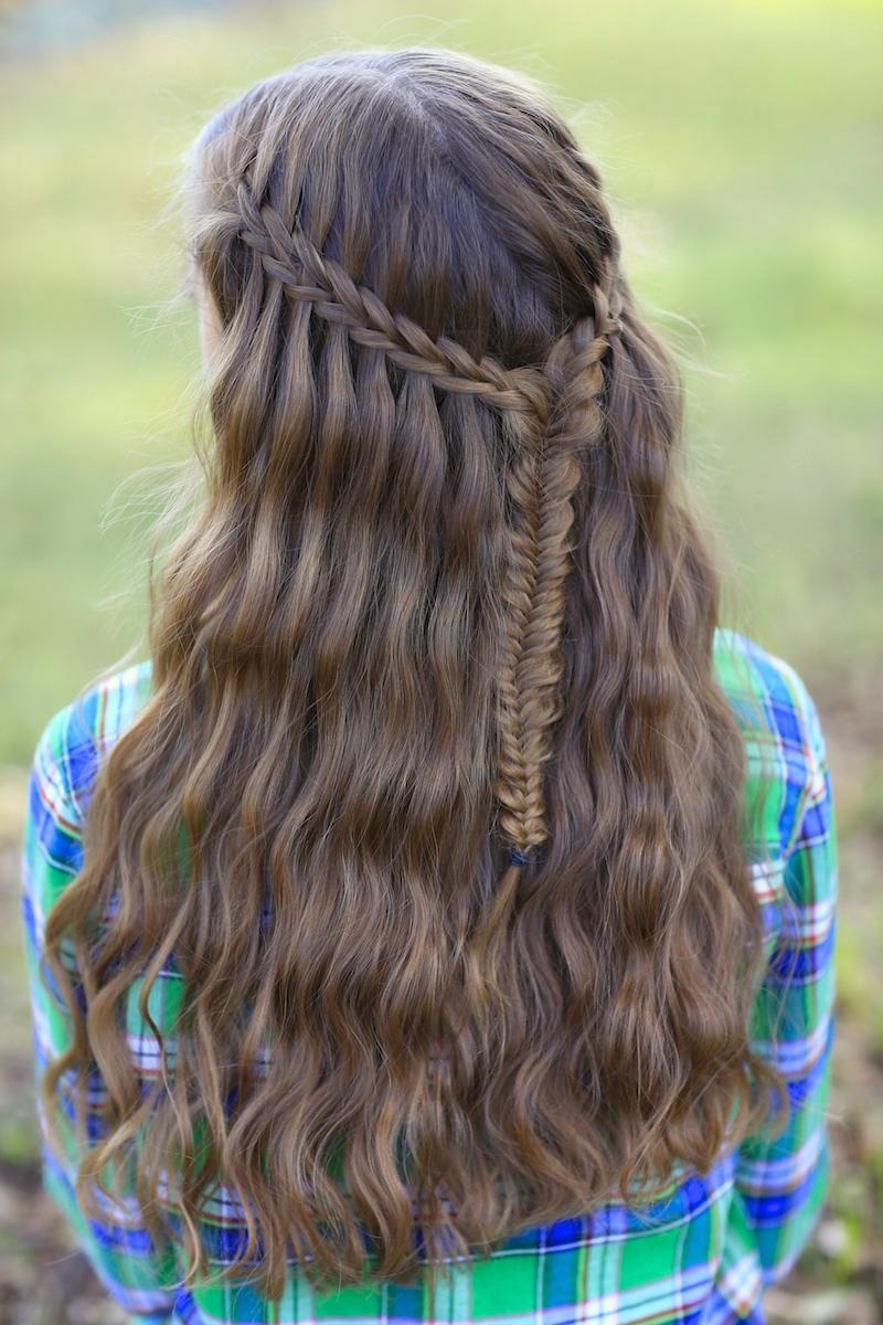 Scissor Waterfall Combo | Latest Hairstyles | Cute Girls ...
