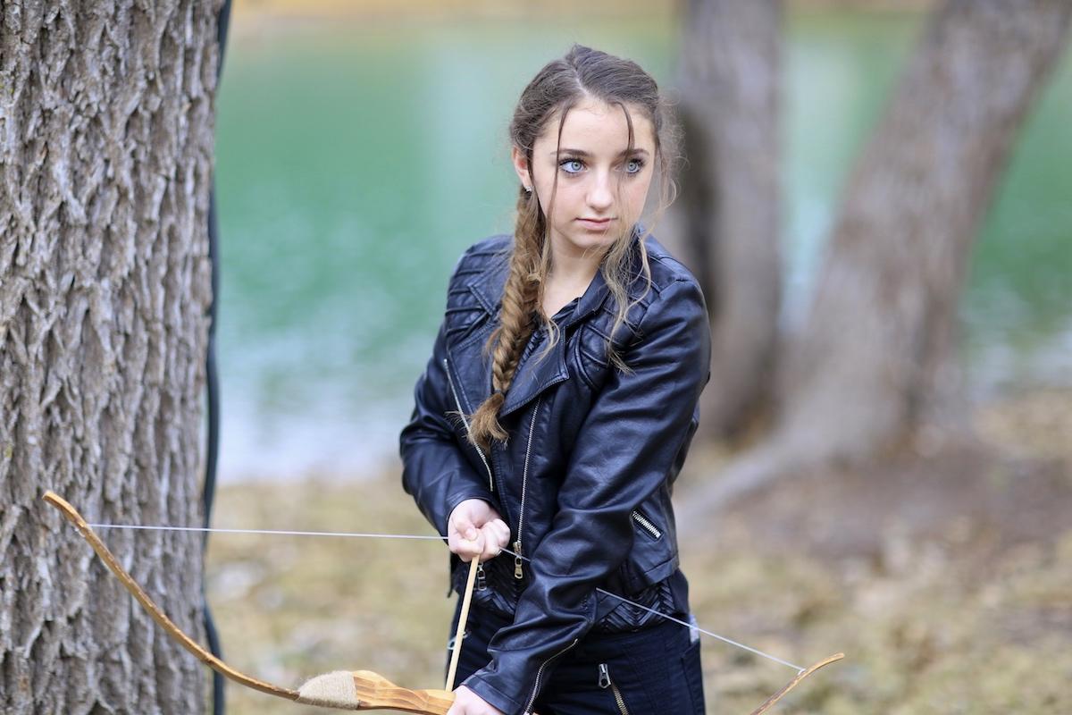Katniss Braid from Mockingjay