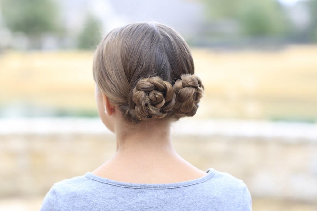 Prim's Braided Updo | Hunger Games Hairstyles
