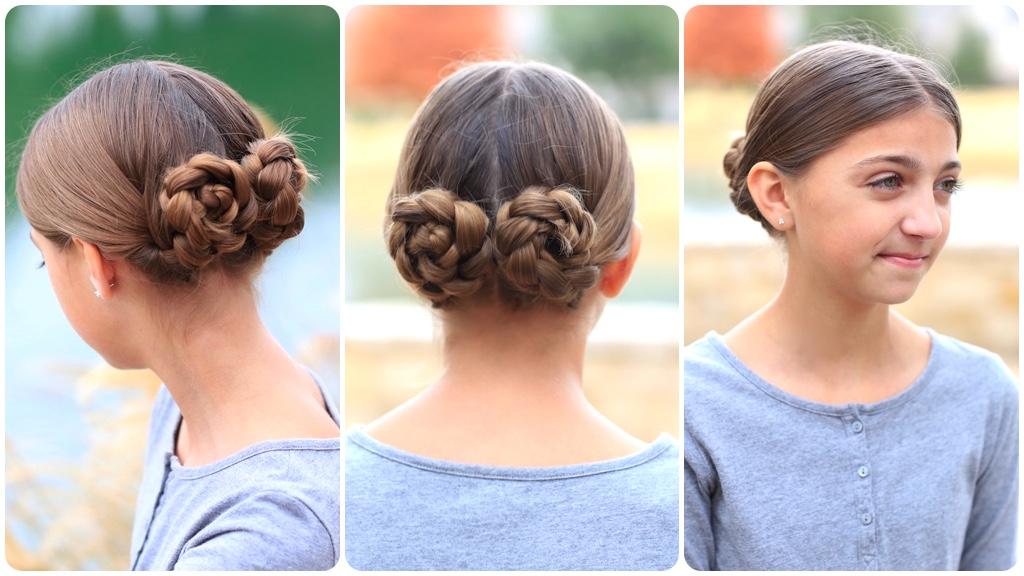 Prim's Braided Bun Updo | Mockingjay Hairstyles