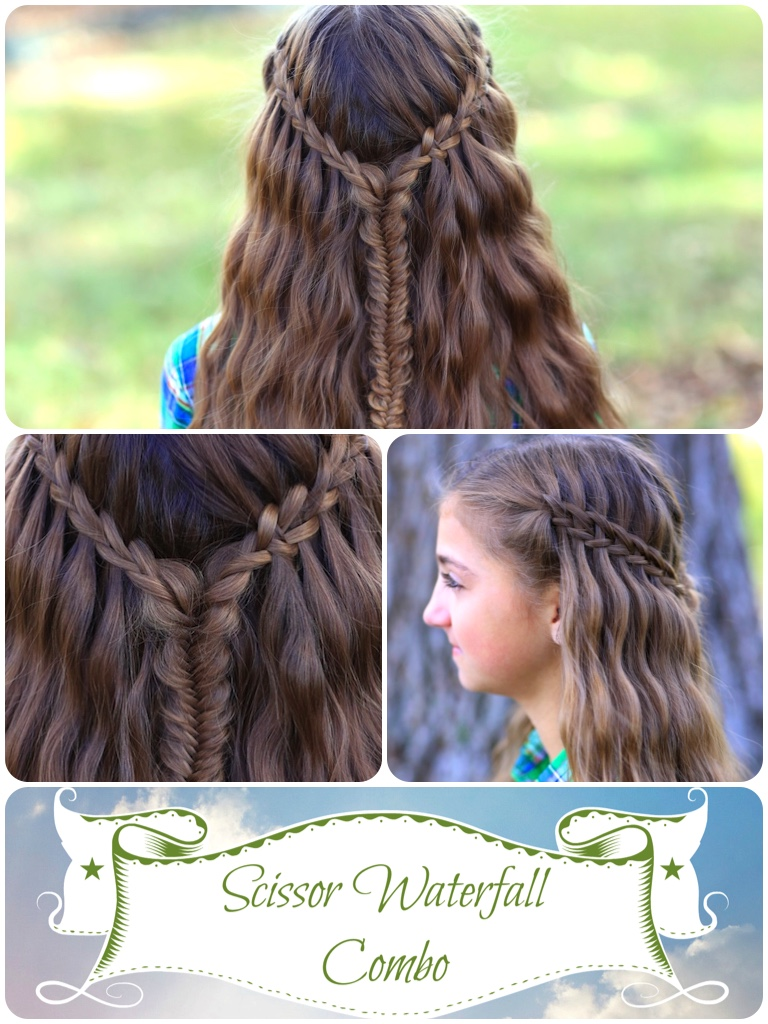 Scissor Waterfall Combo Latest Hairstyles Cute Girls