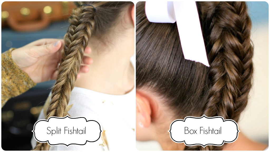 ... your own photos of this hairstyle on IG with: #CGHMessySplitFishtail