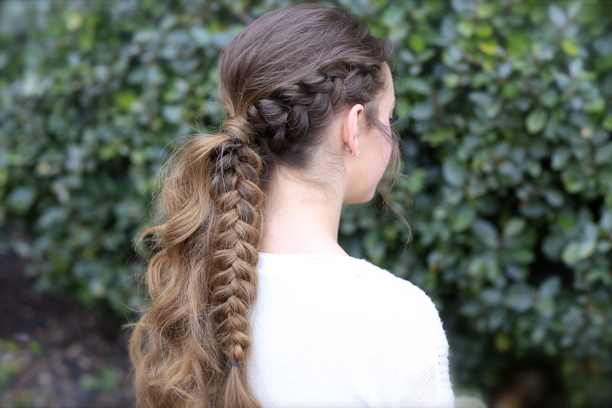 The Viking Braid Ponytail | Hairstyles for Sports