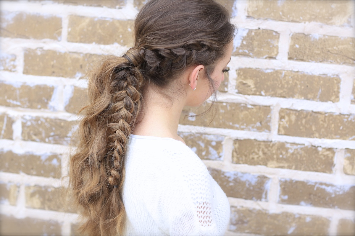 The Viking Braid Ponytail Hairstyles For Sports Cute Girls