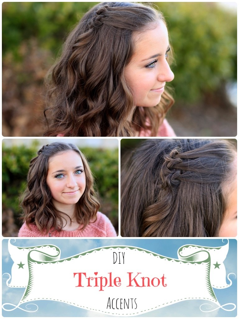Triple Knot Accent | Short Hairstyles