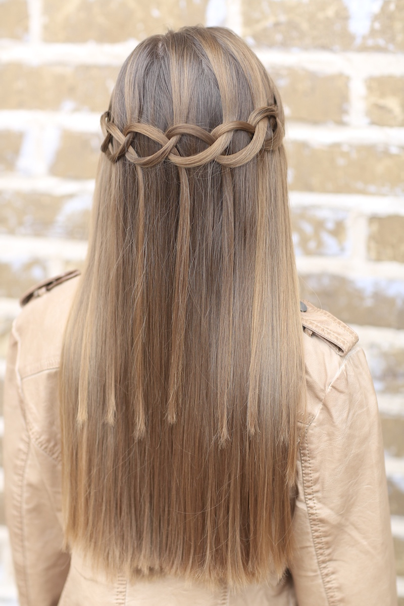 How To Create A Loop Waterfall Braid
