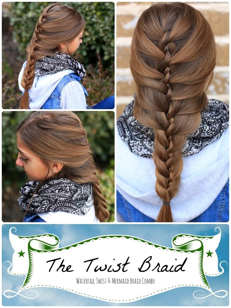 The Twist Braid | Cute Braids