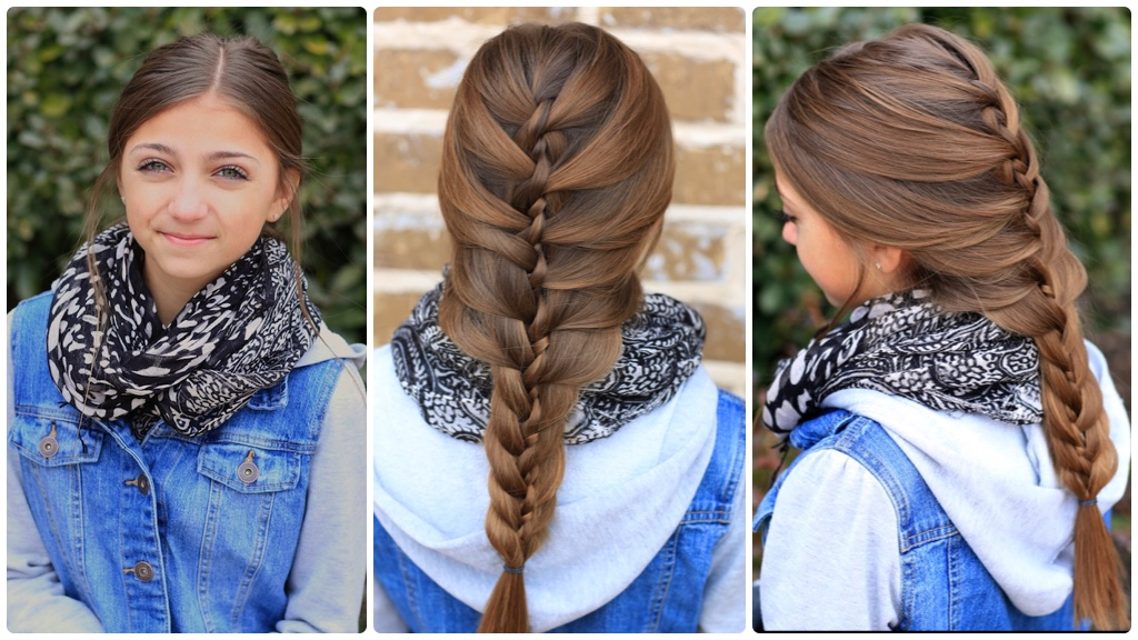 The Twist Braid Cute Braids Cute Girls Hairstyles - Braiding Hairstyles For 10 Year Olds
