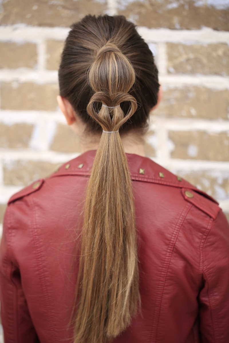 High Ponytails Cute Girls Hairstyles