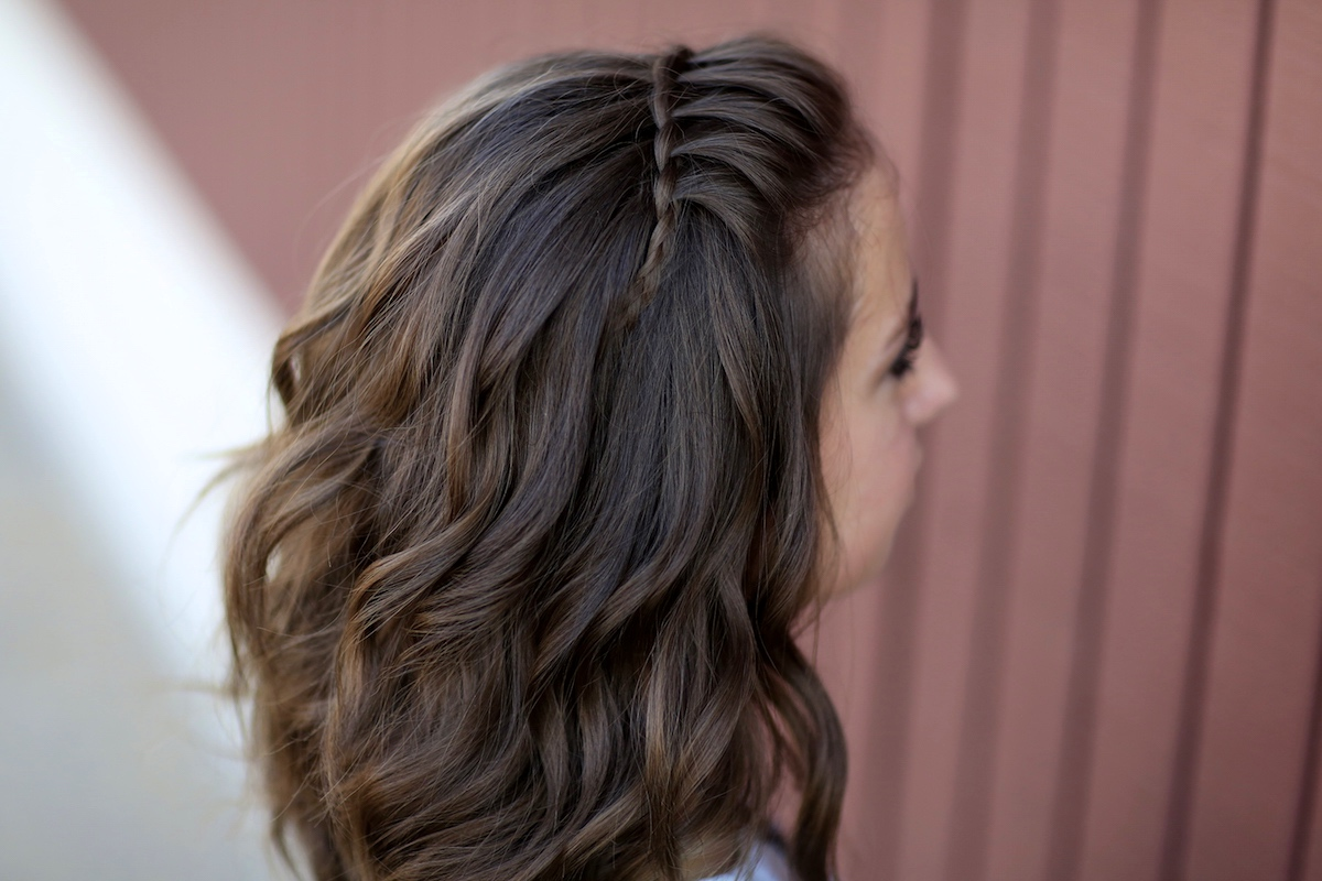 Diy Faux Waterfall Headband Cute Girls Hairstyles